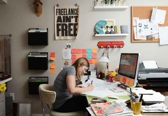 Entrevista la precaria situaci n laboral de un ilustrador for Where do interior designers work