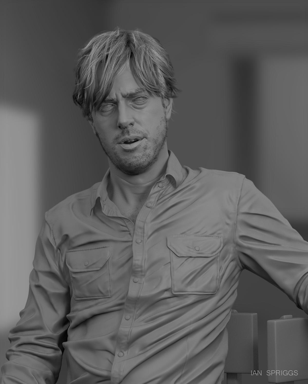 Portrait of David Spriggs