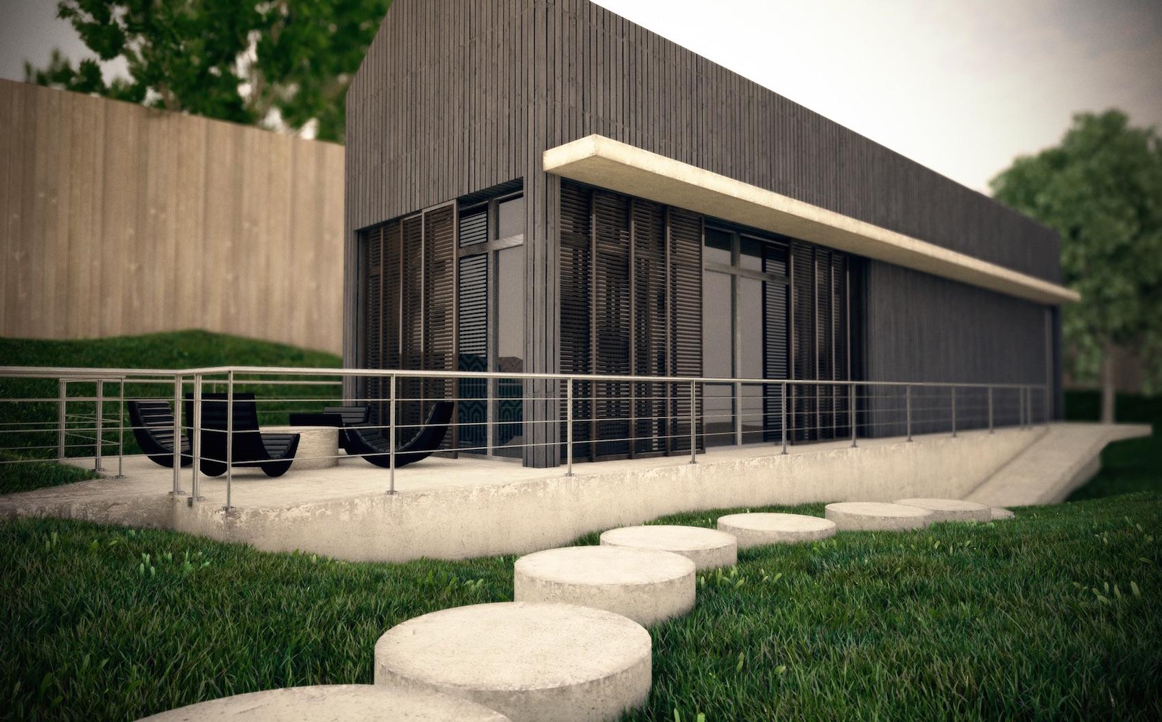3D - Cinema 4D - Resultado arquitectónico 2