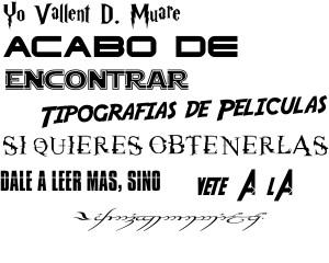 tipografia caotica