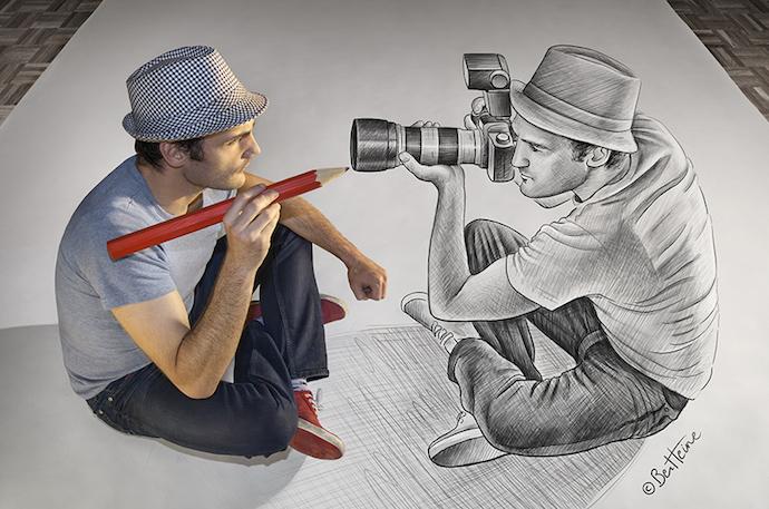 Artista-visual-fotografia-dibujo-Ben-Heine